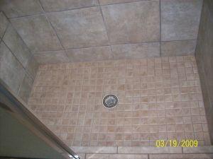 Bath - Shower Floor